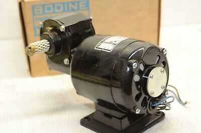 Bodine Dc Gearmotor Right Angle 115hp 115v 201 86 Rpm New Old Stock 36q0b0049