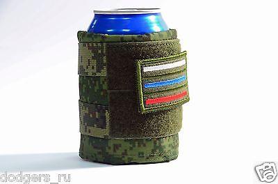 Russian MilitaryTactical Soda Beer Bottle Cover, Holder Coolie Camo EMR