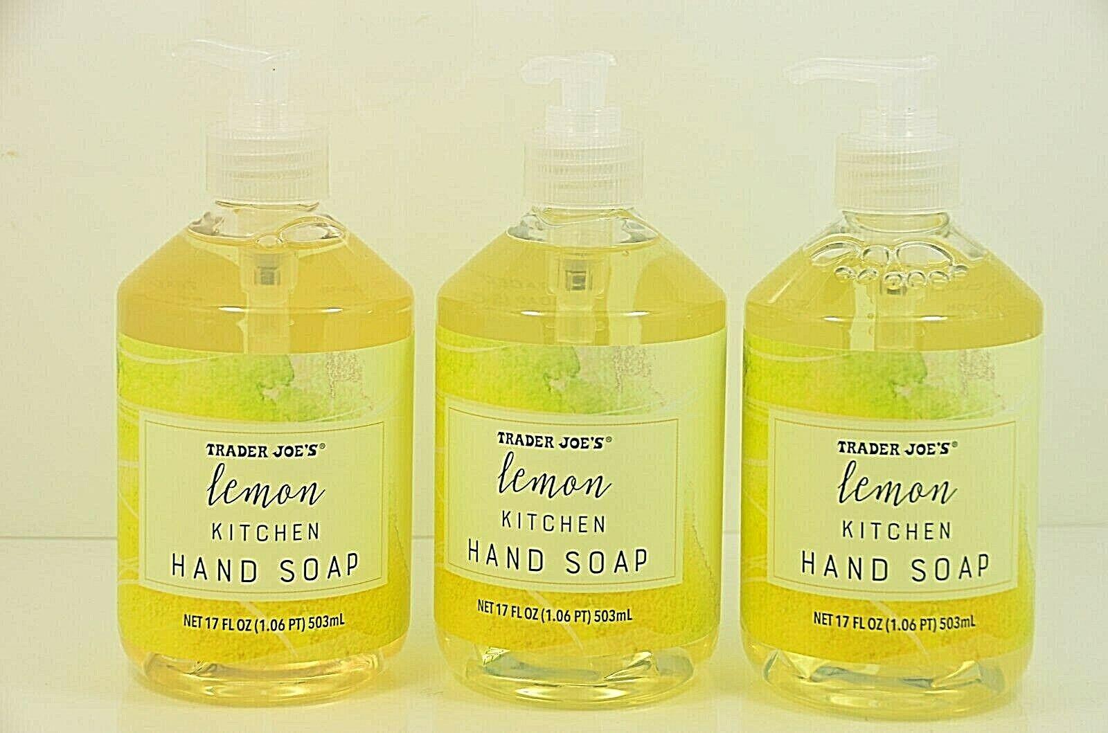 TRADER JOES - LEMON Kitchen Hand Soap