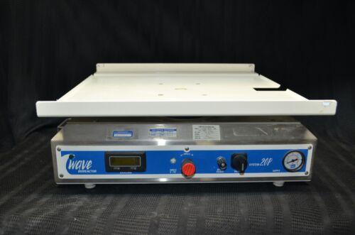 GE WAVE Bioreactor System 20P Pneumatic Rocker + Tray