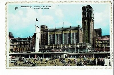 CPA -Carte postale- Belgique - Blankenberge - Casino et les Bains -  1959- S1843