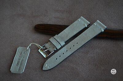 20 mm Cinturino artigianale Vintage Suede Leather Watch Strap Handmade bracelet