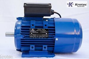 Cement Mixer Electric motor single-phase 240v 0.75kw 1hp