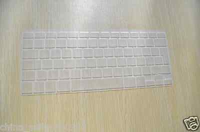 Clear Silicone Keyboard Cover Skin for EU UK Version Macbook Pro Air 13 15 17
