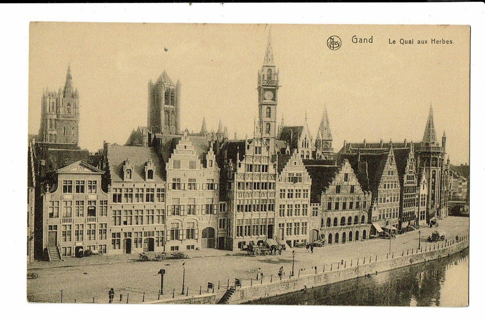 CPA-Carte postale - Belgique - Gent- Le Quai aux herbes - VM2779