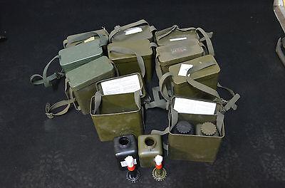 10x BW  Dekont Ölbehälter Umhängetasche Pinselflaschen ABC Bordausstattung Bund