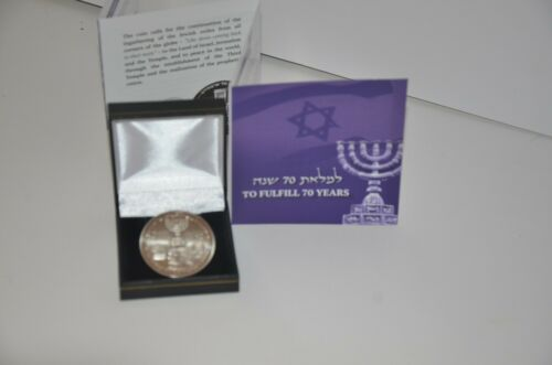 Donald Trump Coin 70 Years Israel Redemption King Cyrus Jewish Temple Mount NICE