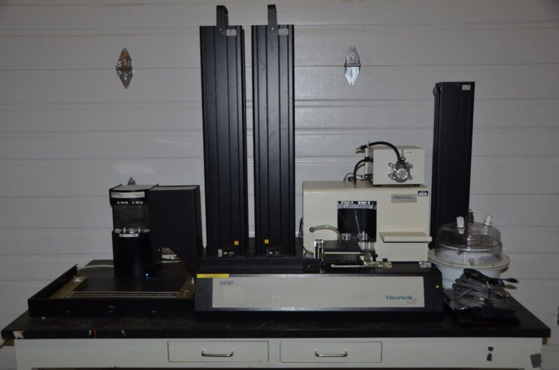 Titertek Map C-2 Liquid Handler W/ Titertek Digiflex , Peristaltic Pump & Extras