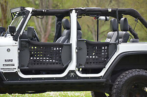 Maximum Jeep Trail Doors w/ Nylon Web 07-17 Jeep Wrangler (4 doors : wrangler doors - Pezcame.Com
