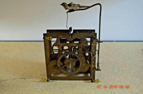 ANTIQUE CUCKOO CLOCK MOVEMENT from WALL Cuckoo Clock with Cuckoo Bird