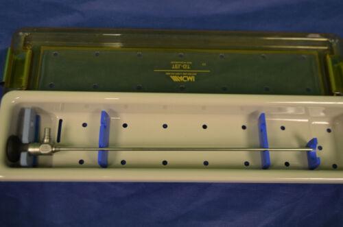 Karl Storz Hopkins II 30º 4mm Cystoscope 27005BA W/ Tray - SEE PICS OF IMAGE