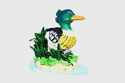 Wilderness Collection Red Breasted Merganser Duck Figurine Collectible Bird