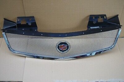 05-07 CADILLAC STS E&G CLASSICS CHROME FINE MESH GRILL GRILLE W/ EMBLEM