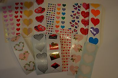 Mrs. Grossman Heart Stickers You Choose](Heart Stickers)