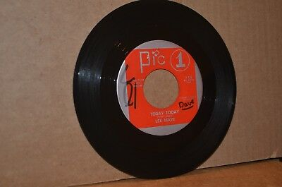LEE MAYE: TODAY TODAY & TOUCH ME ON MY SHOULDER; PIC 1 VG++ DEEP SOUL 45 RPM