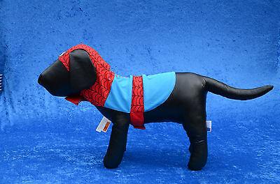 Marvel Comics SPIDERMAN Pet Dog Animal Halloween Costume Size MEDIUM LARGE NEW - Spiderman Dog Halloween Costumes