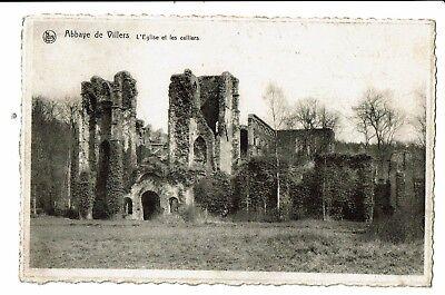 CPA - Carte Postale - Belgique - Villers-la-Ville- L'Eglise et les Celliers