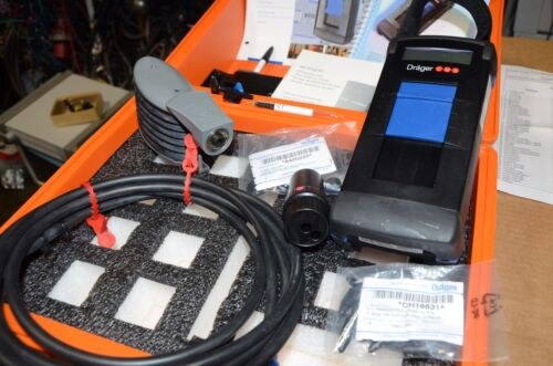 Drager CMS Permissible Gas Analyzer Kit With Accessories