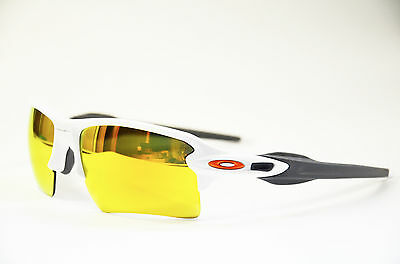 OAKLEY FLAK 2.0 XL OO 9188 19 polished white Fire Iridium Unisex Sonnenbrille