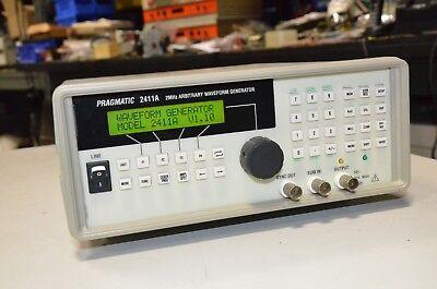Pragmatic Tegam 2411a 2 Mhz Arbitrary Waveform Generator