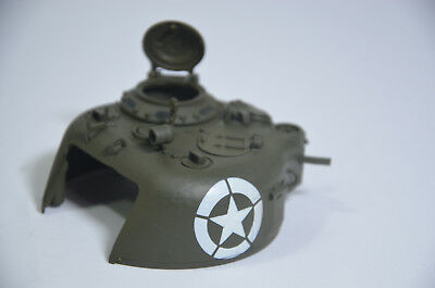 RC 1:24 VS Tank M4 SHERMAN AIRSOFT UPPER Turret A0310254 VSTANK PRO PART NO BOX  (Rc Airsoft Tank)