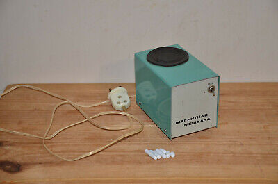 Magnetic Stirrer Vintage Laboratory Equipment Made In Ussr With Anchors
