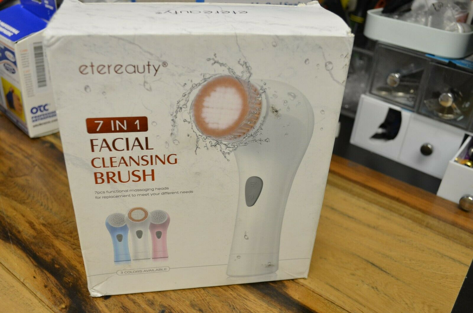 7 in 1 Facial Cleansing Brush Skin Care Electric Soft Face S