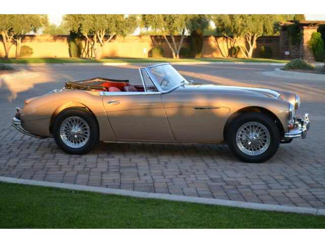 Austin Healey 3000 MKIII 1967 Austin Healey 3000 BJ8 MKIII Golden Healey Restored BMHTC Matching #'s