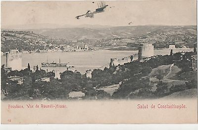 POSTCARD  TURKEY  CONSTANTINOPLE  Vue de Roumeli Hissar