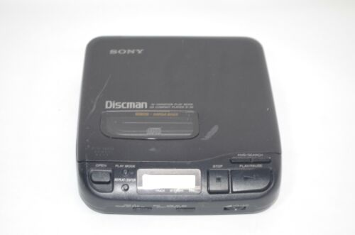 Vintage Sony D-34 Portable Discman CD Player Tested and Working