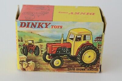 Dinky Toys No 305 David Brown Tractor - Meccano Ltd - England - Boxed for sale  Shipping to India