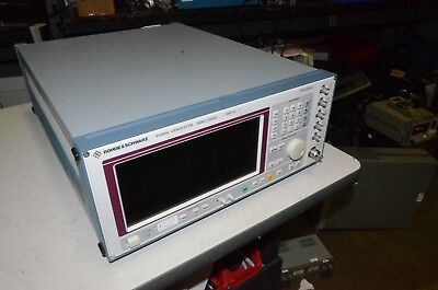 Rohde & Schwarz SMP02 20 Ghz Signal Generator B1 B2 B5 B11 B12 B13 B14 B14