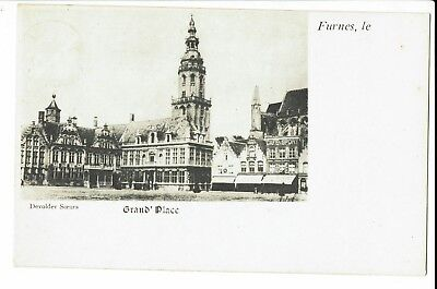 CPA-Carte postale-Belgique -Veurne-Furnes- Grand Place-1916- S567