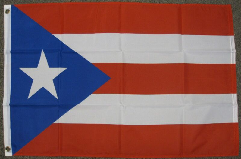 PUERTO RICO FLAG 2X3 FEET RICAN COUNTRY NATION BANNER NEW F446