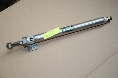 Clippard 6 Inch Stroke 34 Inch Bore Stainless Steel Pneumatic Air Cylinder