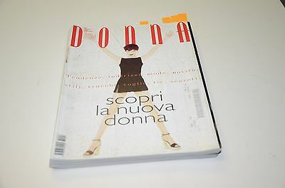 1998 Collezioni Donna Fashion Magazine #1 Issue Yamamoto Ad Ads