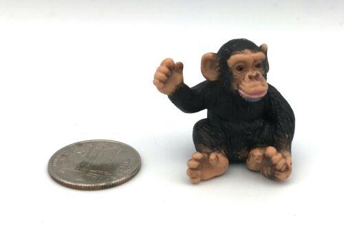 Schleich CHIMPANZEE BABY Infant 2001 Retired Baby 14192 Wildlife Animal Figure