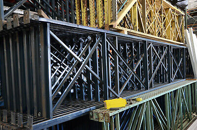 16 X 42 T-bolt Upright Pallet Rack Shelving W 3x3 Post