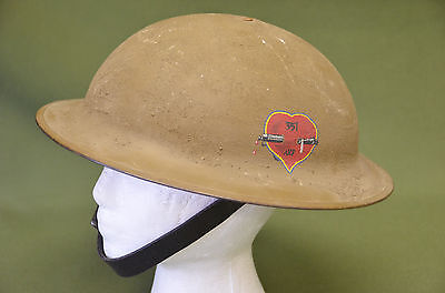 WWI AEF American Expeditionary Forces 351st Infantry Helmet and Strap Liner ???