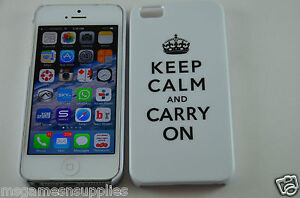 White-Keep-Calm-and-Carry-On-KCCO-Hard-Plastic-Full-Back-Case-for-iPhone-5-5S