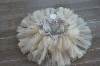 Mischka Aoki I Want To Dance For Hundred Years Girls Dress 4T