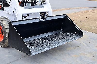 Bobcat Skid Steer Attachment 74 Low Profile Smooth Bucket - Shipping Cost 199