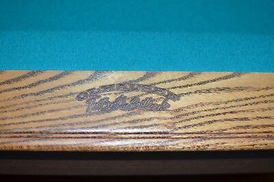 Olhausen Sheraton Oak Laminate 8  8 Ft  8 Feet Pool Table   Green   Usa Made