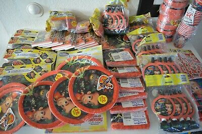 HUGE Lot of VINTAGE Jimmy Neutron Boy Genius Party Decorations - Jimmy Neutron Party