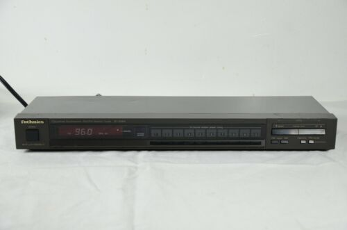 Technics ST-S98A Quartz Synthesizer AM/ FM Stereo Tuner Made in Japan, Working
