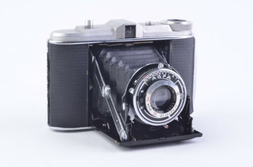 EXC++ AGFA ISOLETTE 120mm FOLDING CAMERA, CLEAN, TESTED