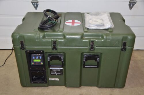Acutemp HemaCool Portable Blood Storage Transport Refrigerator Freezer HMC-MIL-1