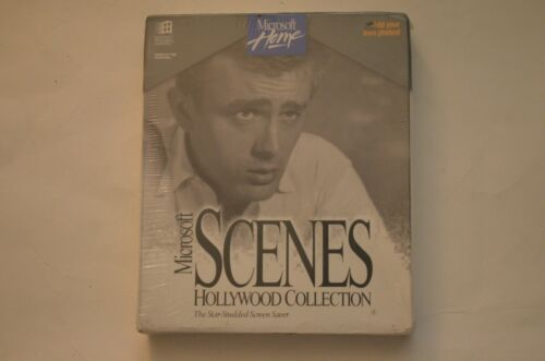 RARE Microsoft Scenes Hollywood Collection The Star Studded Screen Saver Sealed