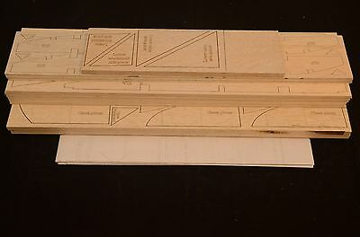 "Giant 12' TELEMASTER Laser cut short kit & Plans 144"" wing span, ELECTRIC POWER"