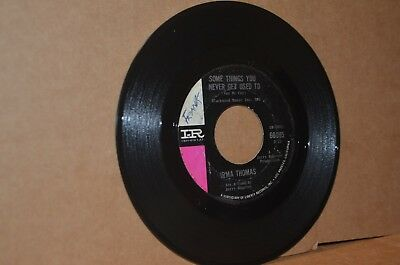 IRMA THOMAS: SOME THINGS YOU NEVER GET USED TO; IMPERIAL VG++ NORTHERN SOUL 45